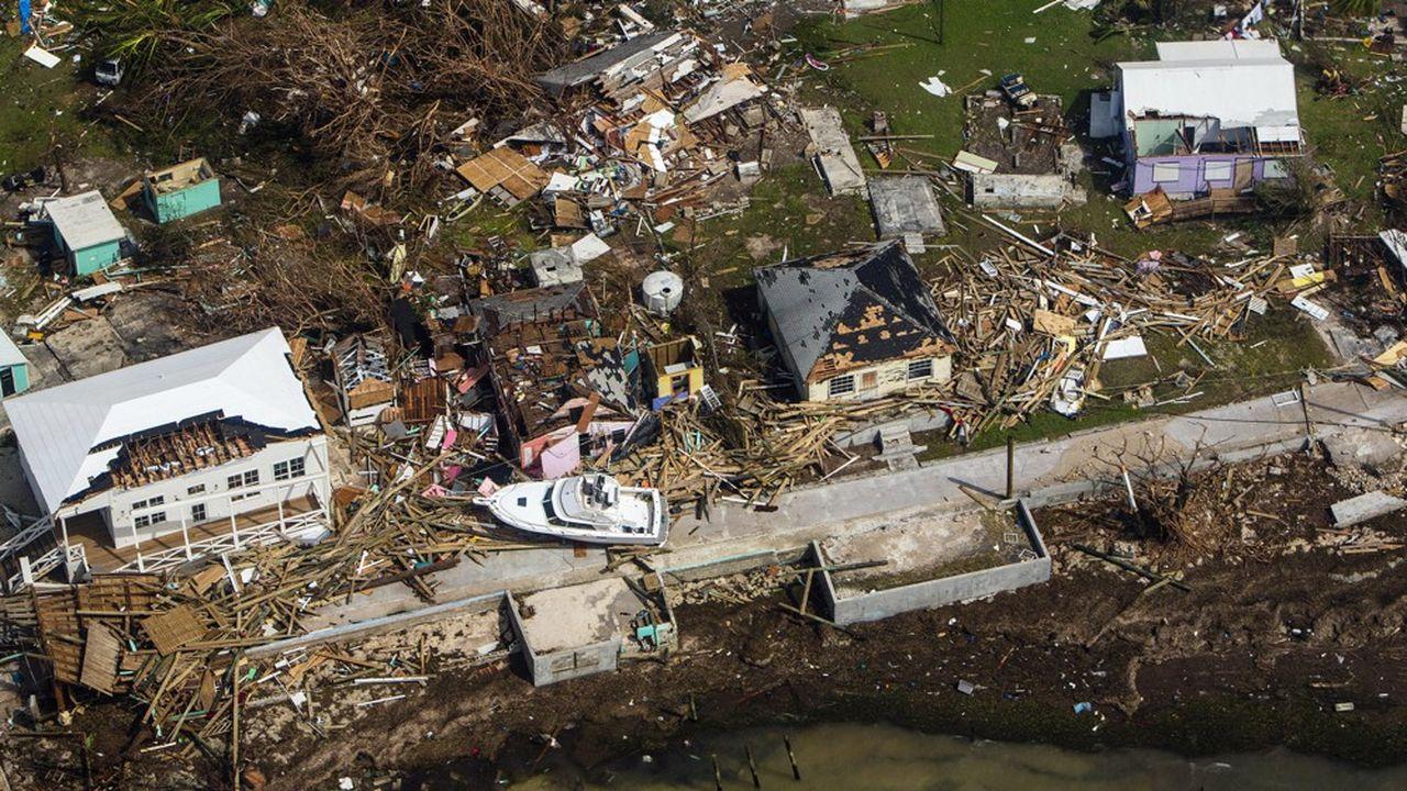 Aux Bahamas, l'ouragan Dorian a dévasté les îles d'Abaco et Gran Bahama.