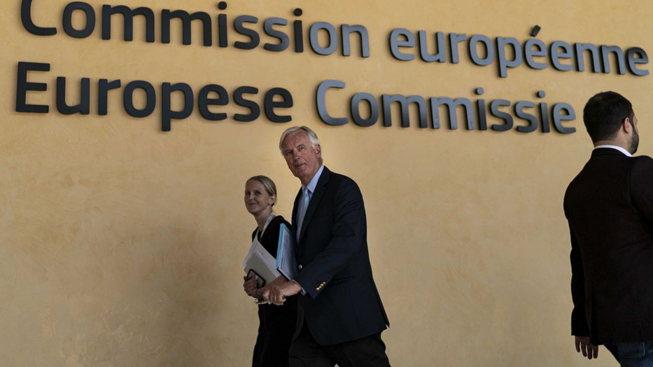 Michel Barnier, le négociateur en chef des Européens, a appelé les diplomates de l'UE à faire preuve de calme face à la stratégie de Boris Johnson.
