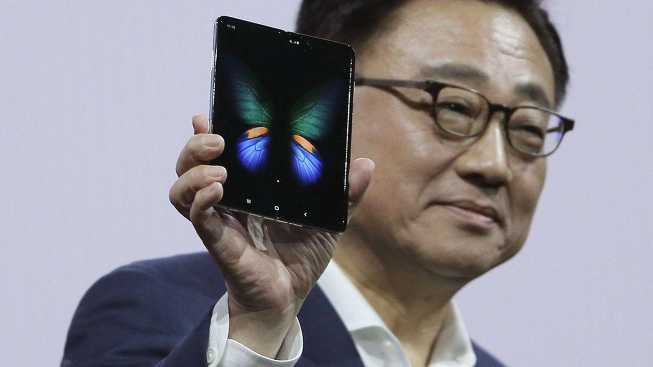 Le Samsung Galaxy Fold, le smartphone pliable du Sud-Coréen, sera disponible dans quelques boutiques en France.