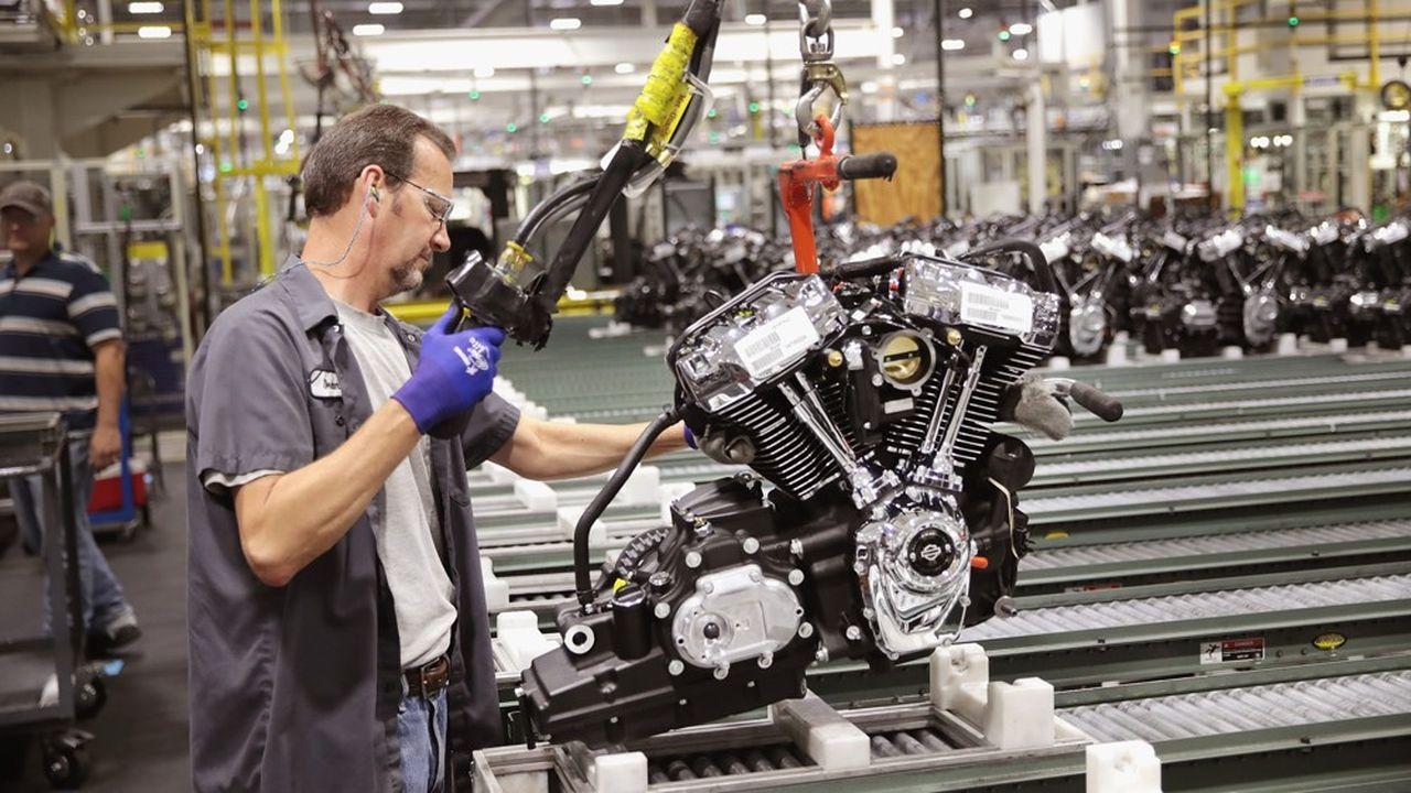 L'industrie américaine n'a créé que 3.000 emplois en août, lestée par la guerre commerciale.
