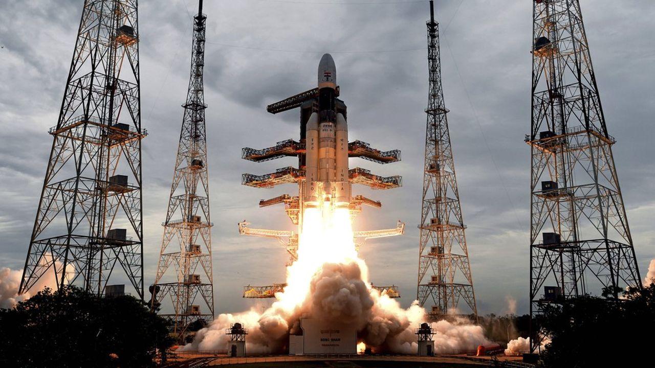 La mission Chandrayaan-2 avait été lancée le 22juillet dernier.