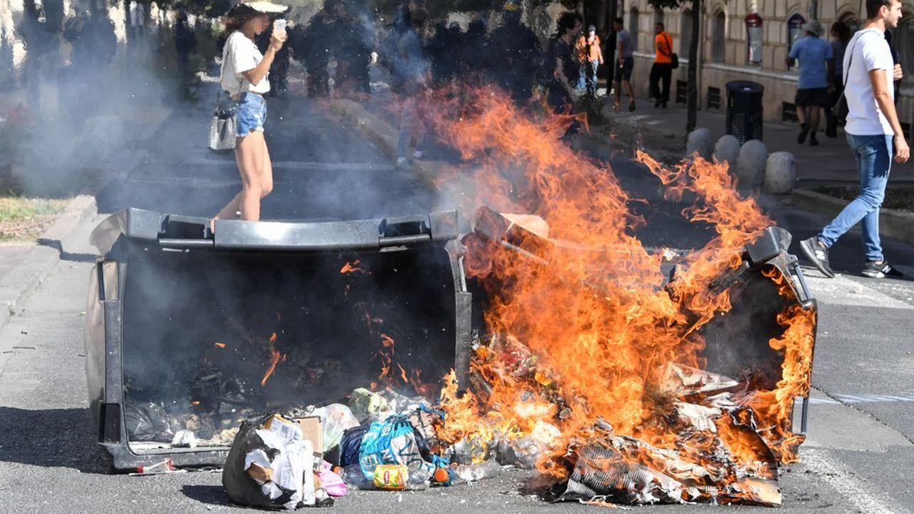 A Montpellier, le cortège a rassemblé 2.000 - selon la préfecture - à 5.000 manifestants - selon les organisateurs - au plus fort de la manifestation.