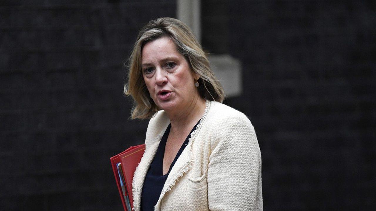 A 56 ans, Amber Rudd, était un poids lourd du gouvernement.