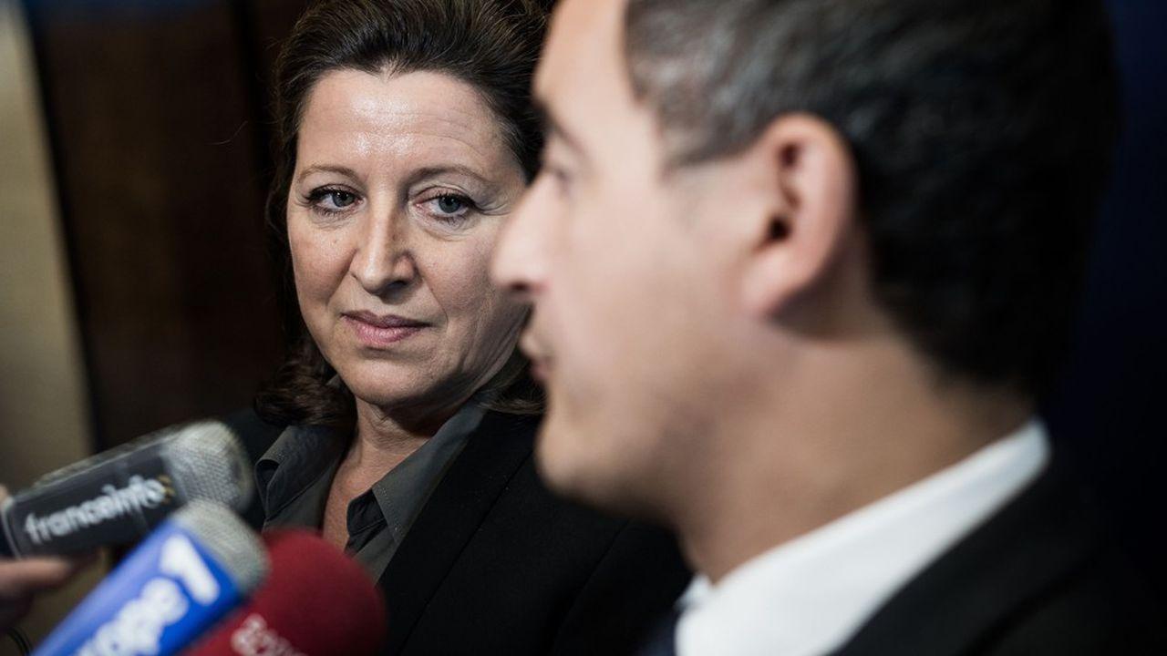 Les deux ministres de tutelle de la Sécurité sociale, Agnès Buzyn et Gérald Darmanin, ne devraient pas procéder à de nouvelles économies imprévues dans le prochain budget social.