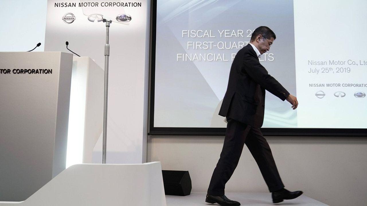 En juillet, Hiroto Saikawa avait dévoilé une baisse de 99% des profits opérationnels trimestriels du groupe Nissan et avait laissé entendre que la situation allait encore se dégrader dans les prochains mois.