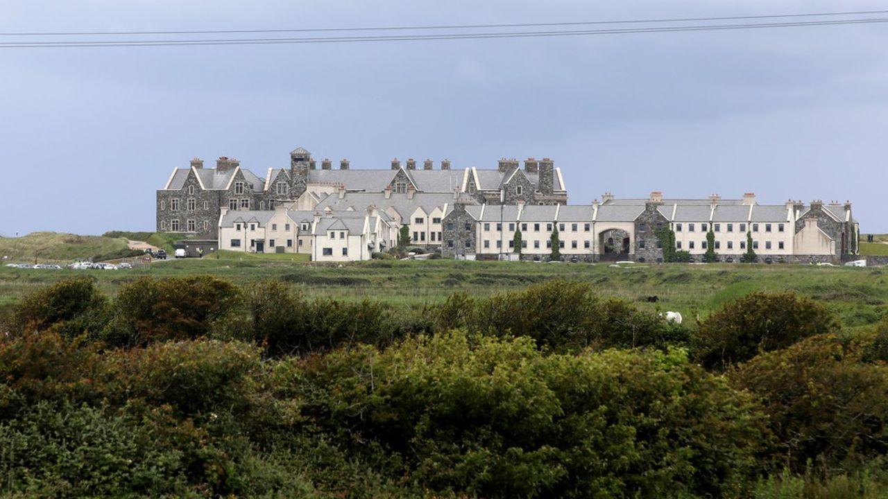 Mike Pence a passé deux nuits à Doonbeg au Trump International Golf Links & Hotel, à près de… 300 kilomètres de ses rendez-vous officiels à Dublin