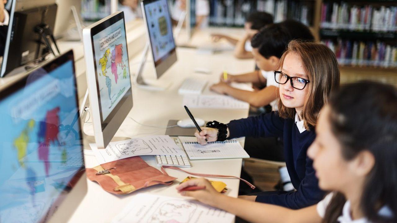 Il y a vingt ans, les salles informatiques des écoles étaient souvent le premier lieu d'apprentissage de l'utilisation d'un ordinateur.