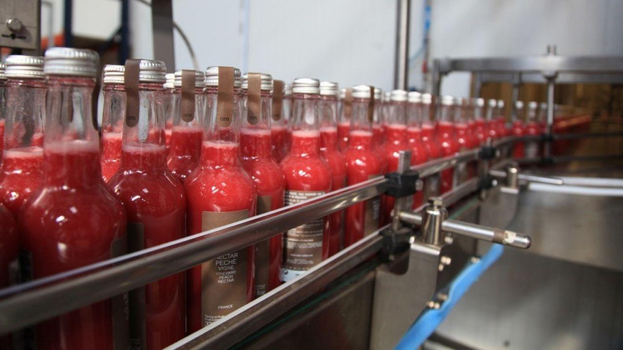 Alain Milliat commercialise 38 parfums de jus de fruits et de nectars.