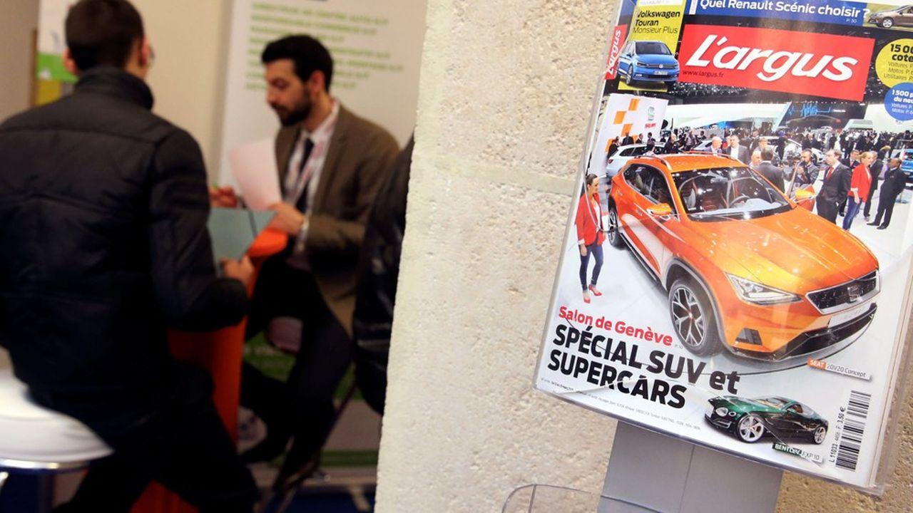 leboncoin acquiert l'Argus et sa célèbre cote des voitures d'occasion pour un montant d'environ 85 millions d'euros.