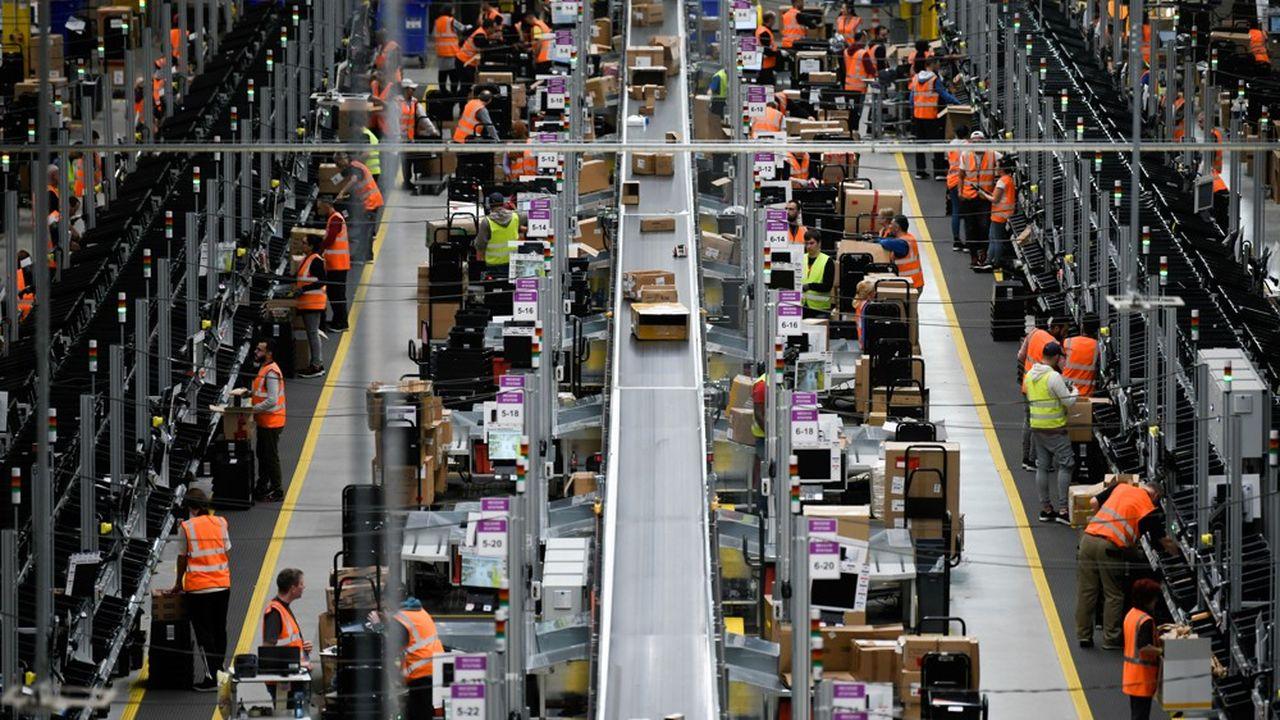 Amazon a énormément investi dans des centres et dans l'emploi en Europe