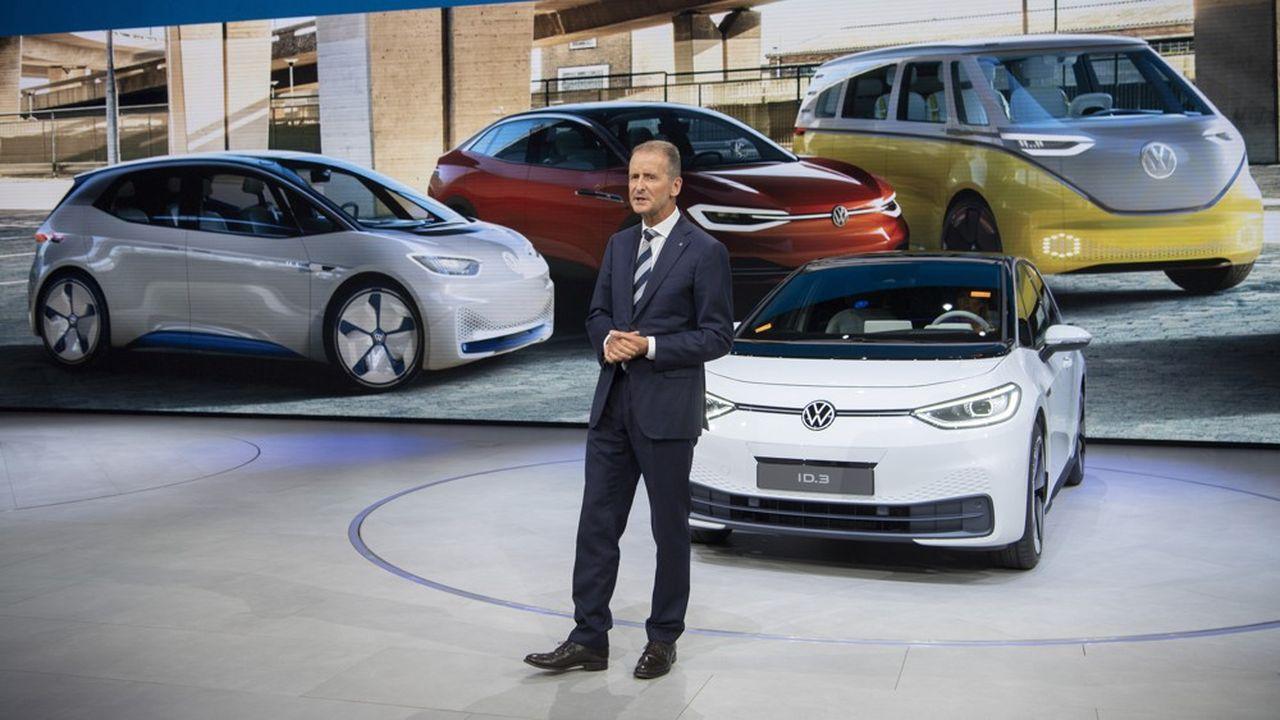 Avec l'ID.3, Volkswagen espère combler son retard technologique accumulé dans l'électrique.