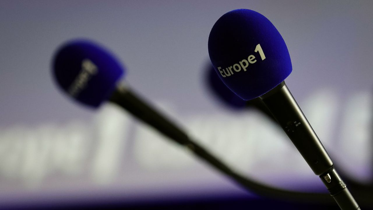Entre avril et juin, l'audience cumulée d'Europe 1 a touché un point bas historique à 5% contre 6,5% un an plus tôt, selon Médiamétrie