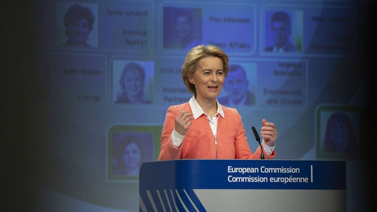 Ursula von der Leyen a présenté mardi à Bruxelles la composition du collège de commissaires qu'elle présidera à partir du 1ernovembre.