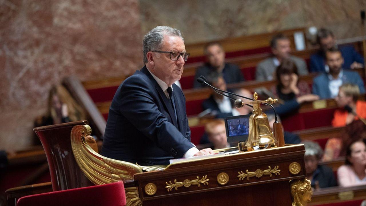 Actuel président de l'Assemblée nationale, Richard Ferrand avait été contraint de quitter le gouvernement en 2017 après les révélations du «Canard enchaîné» sur cette affaire.