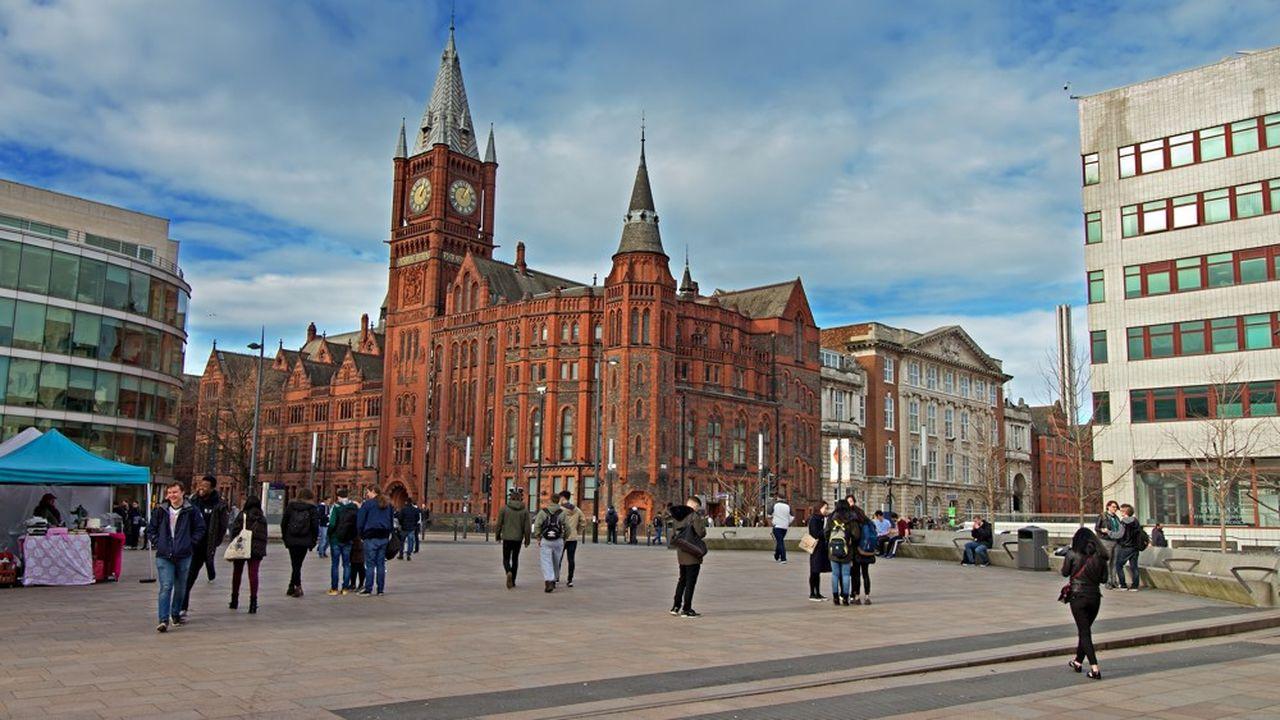 Le building Victoria de l'université de Liverpool.
