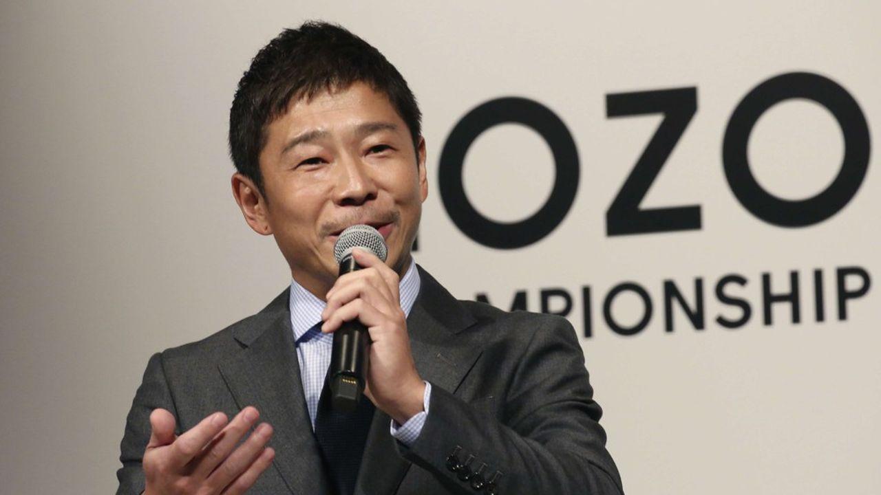 Yusaku Maezawa, l'excentrique fondateur de la plateforme, va quitter la direction de Zozo.