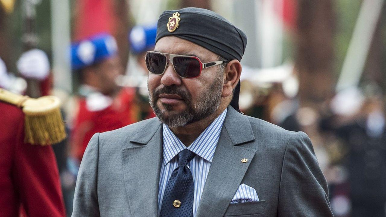 Mohamed VI règne depuis vingt ans sur un Maroc occupant une position de carrefour entre l'Afrique et l'Europe, entre l'Occident et l'islam (Photo FADEL SENNA/AFP)
