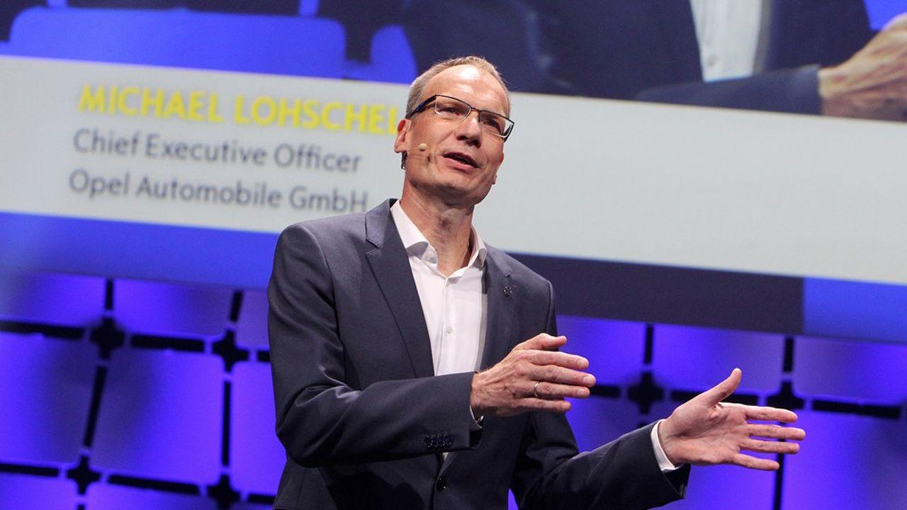 Le directeur général d'Opel, Michael Lohscheller, a été nommé au directoire du groupe PSA en juillet dernier.