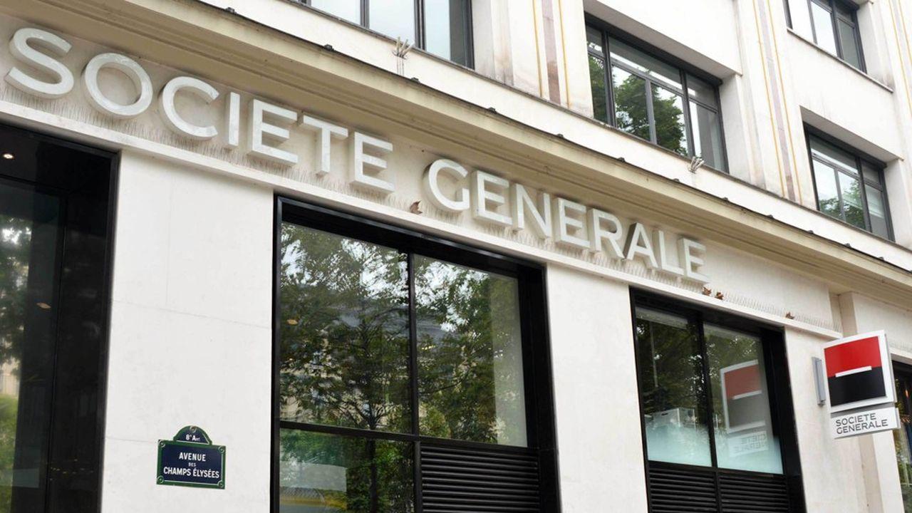 Comme d'autres grandes banques françaises, Société Générale restructure son réseau d'agences.