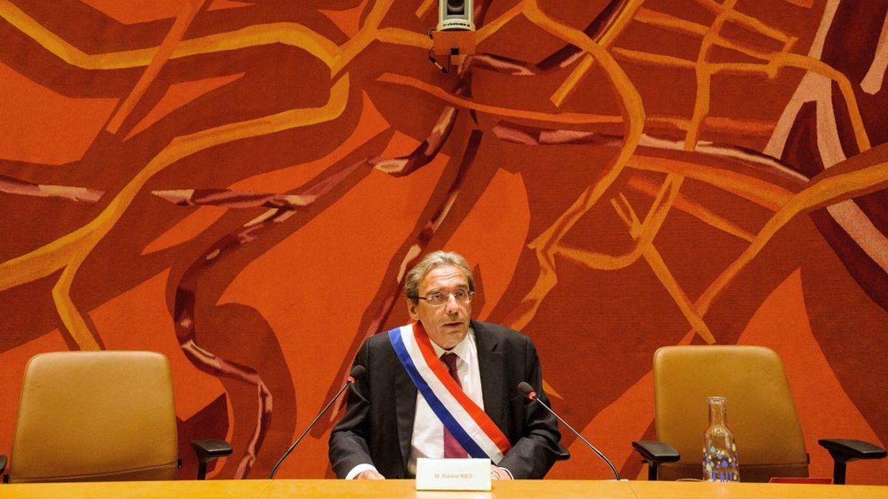 Roland Ries est maire de Strasbourg depuis 2008.