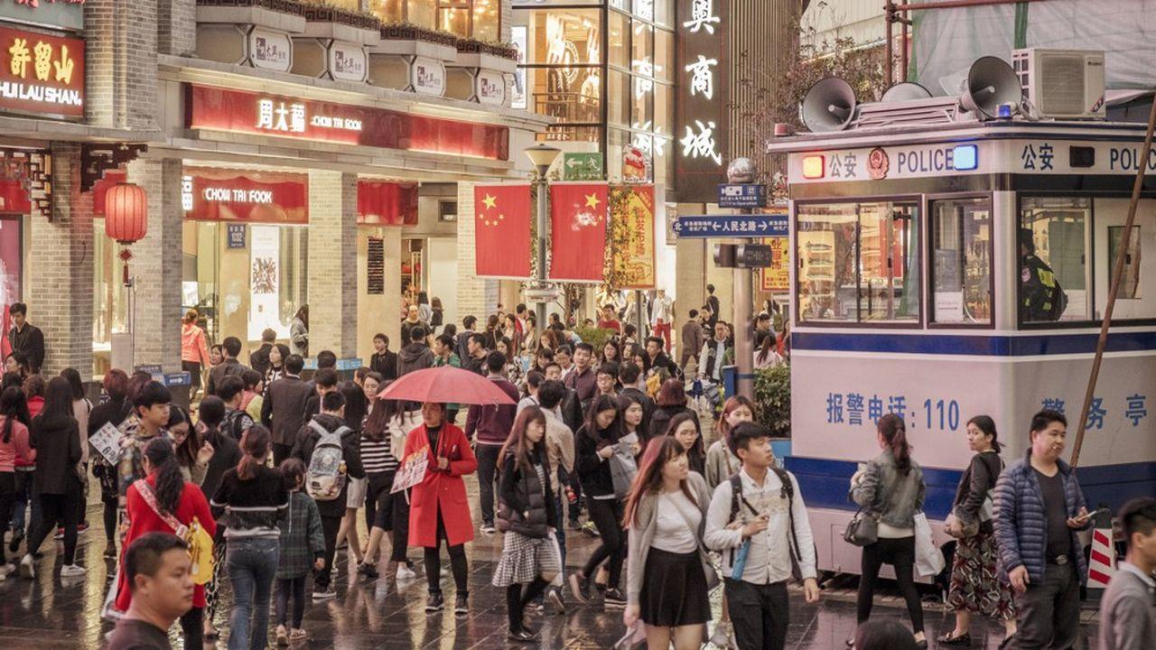Shenzen, au sud de la Chine, doit être intégralement couverte en 5G en août2020, selon la feuille de route du gouvernement.