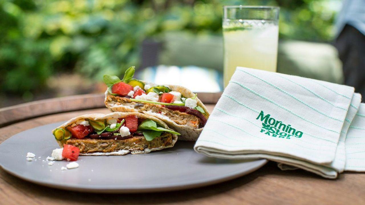 Déjà très populaire aux Etats-Unis, MorningStar Farms est la référence dans le monde des alternatives à la viande.