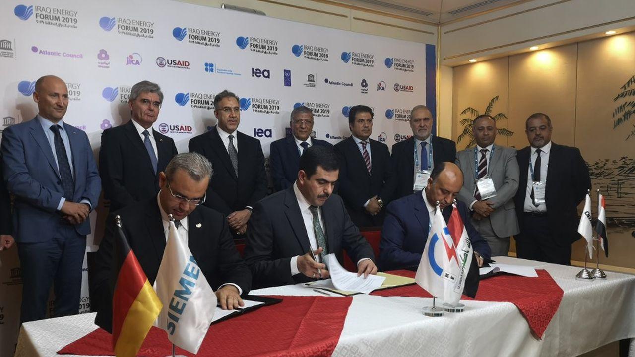 Irak : Siemens signe un accord dans l'électricité face à GE