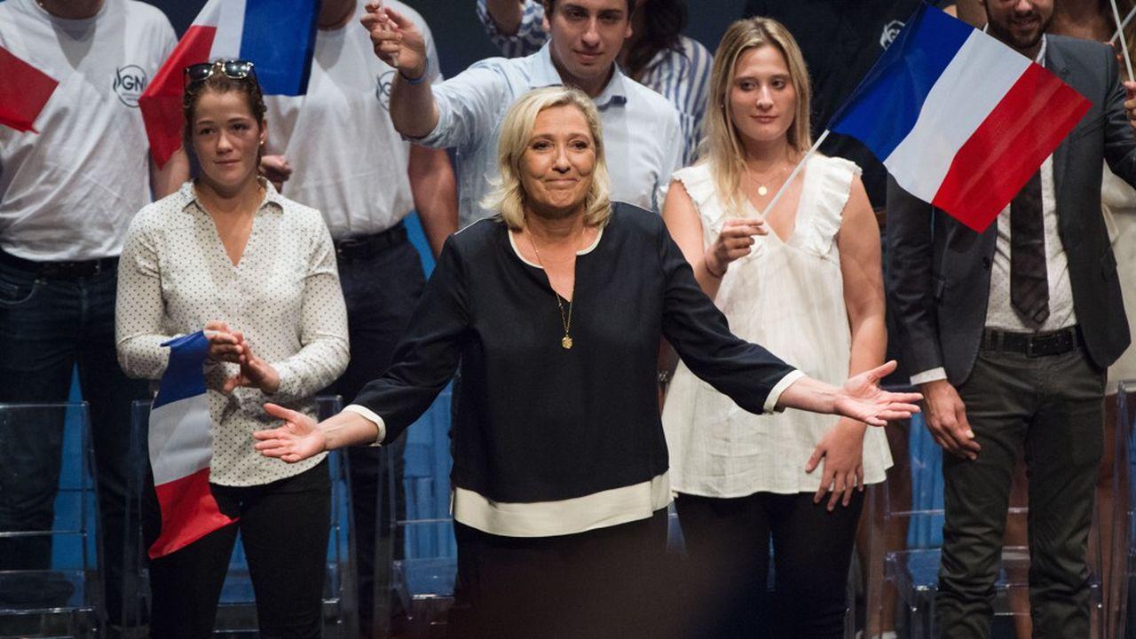 Depuis Fréjus, ville dirigée depuis 2014 par un maire RN, Marine Le Pen a lancé sa campagne pour les municipales de 2020 et esquissé les premières pistes pour la présidentielle de 2022