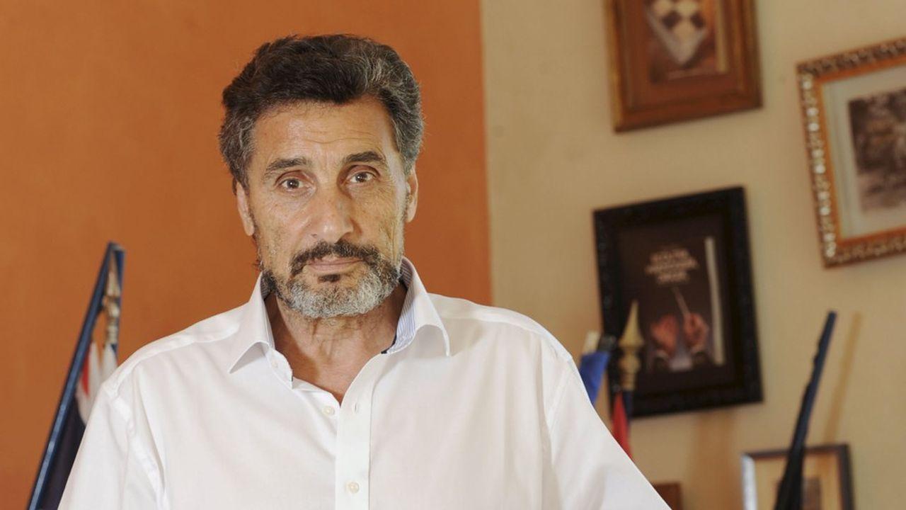 Mohed Altrad, président du groupe Altrad.