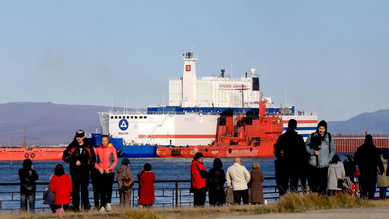 La centrale nucléaire flottante russe est arrivée dans l'Arctique
