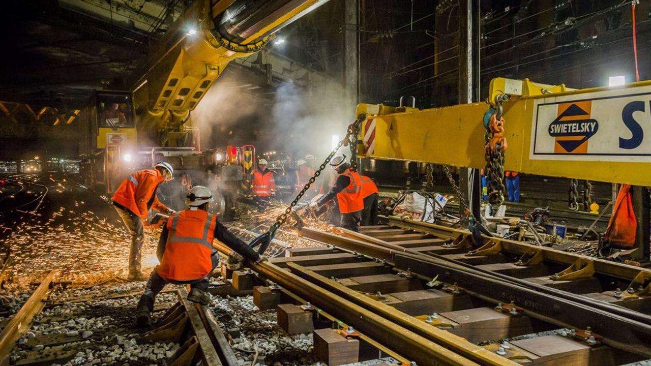 L'overdose de travaux ferroviaires menace en Île-de-France