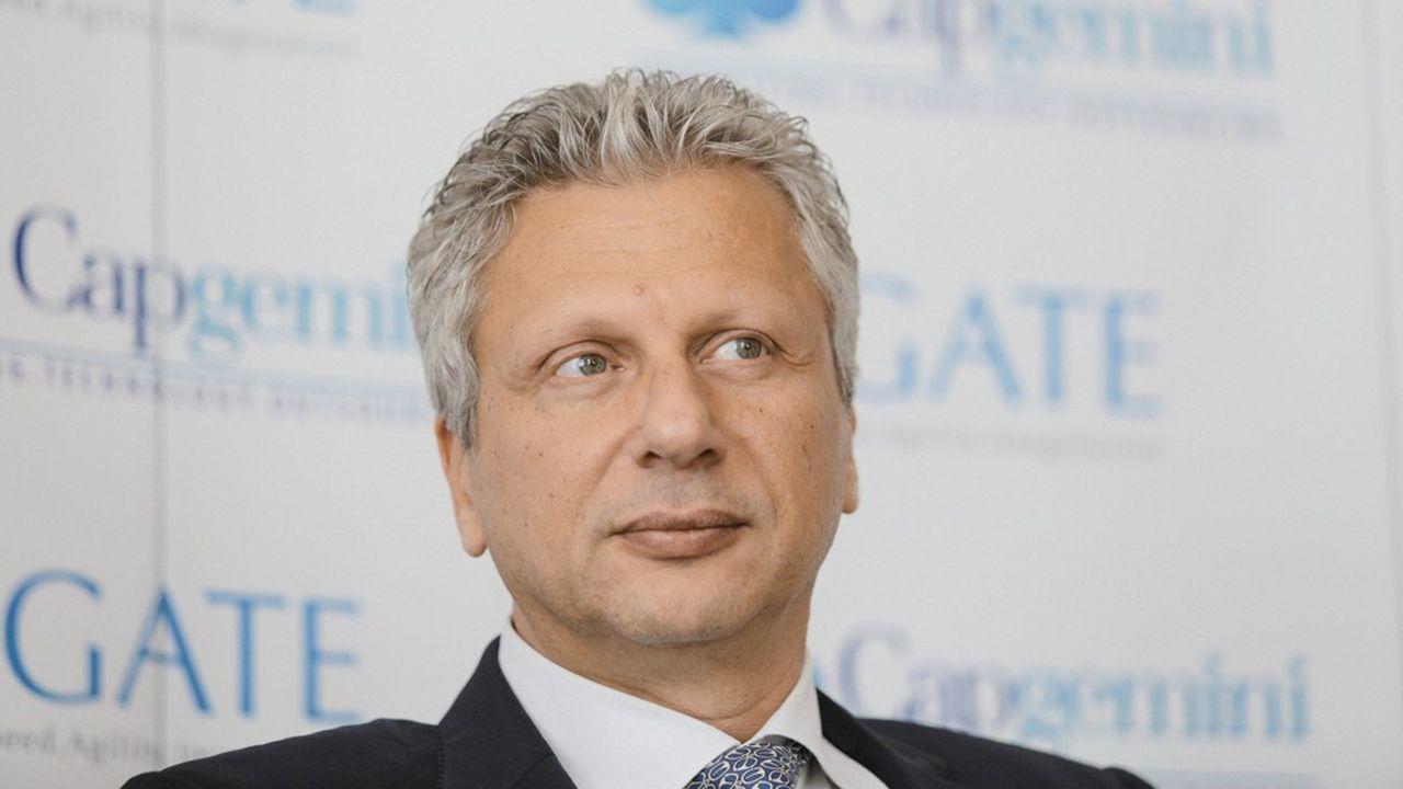 Aiman Ezzat est directeur général délégué du groupe Capgemini.