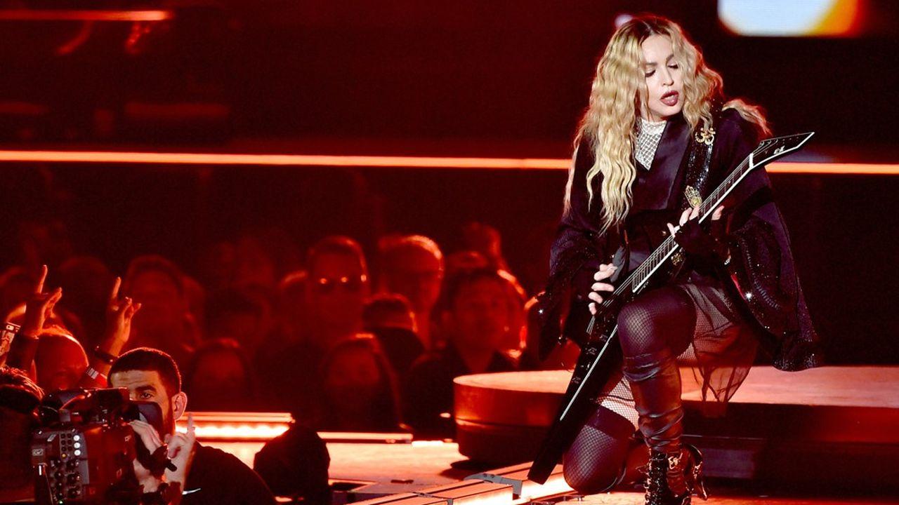 Ce mardi, c'est au BAM Howard Gliman Opera House, un théâtre de Brooklyn d'une jauge de 2.100 places, que Madonna démarre sa nouvelle tournée (photo: en 2015)