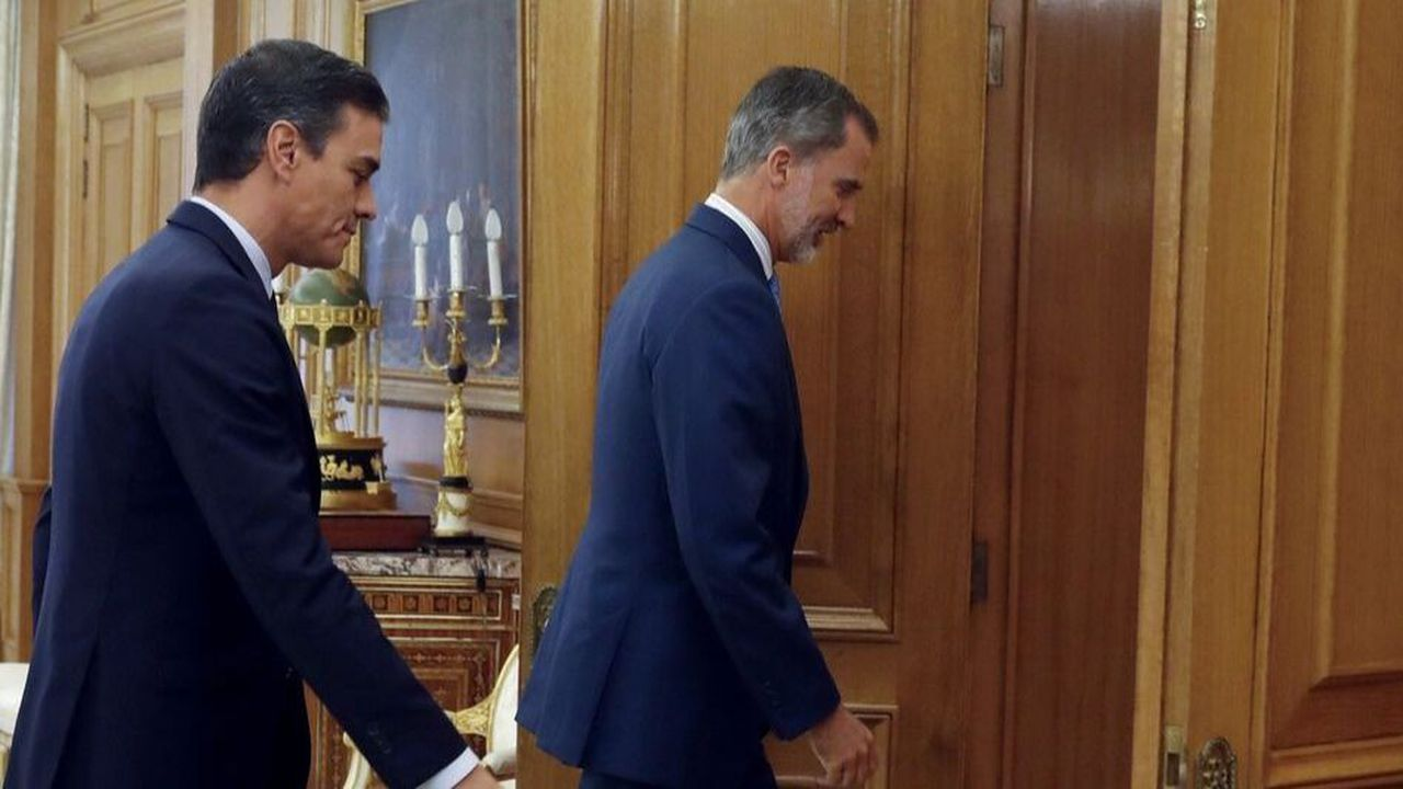 Le dernier round de négociations au palais royal espagnol, en présence du chef de gouvernement sortant Pedro Sanchez, n'a découché sur aucune issue politique