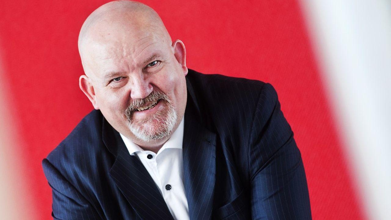 Philippe Verwaerde, PDG de la société lilloise AlzProtect.