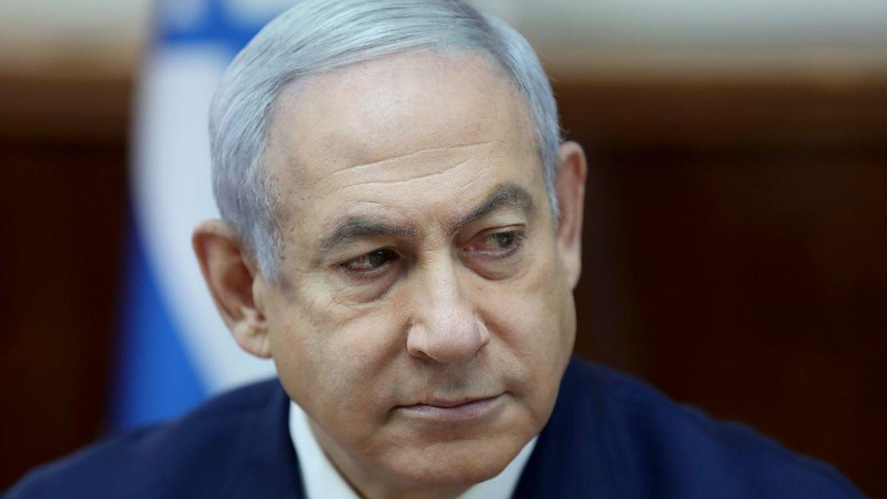Le premier ministre israélien, Benyamin Netanyahu, semble très mal placé pour se succéder à lui-même. (Photo par ABIR SULTAN/POOL/AFP)