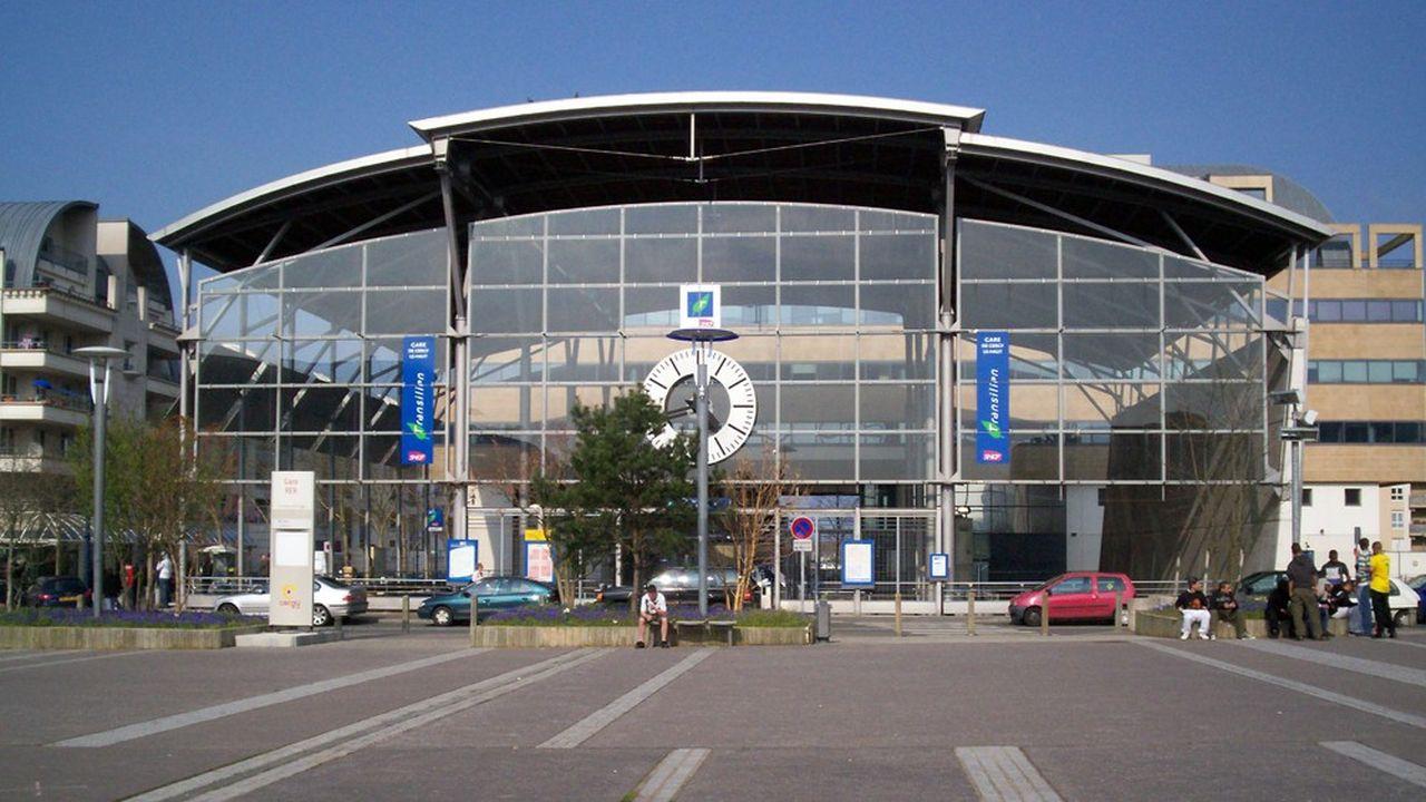 La gare de Cergy-le-Haut.