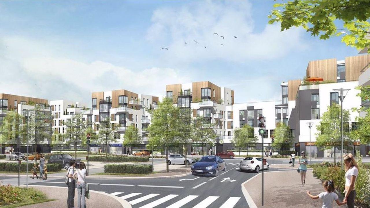 La réhabilitation du quartier de La Galathée a notamment permis la construction de 254 logements sociaux.