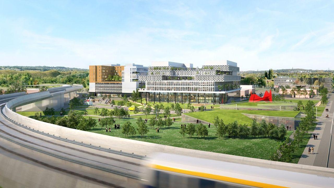Sigfox espérait un campus de huit hectares mais devra se contenter d'un seul au départ.