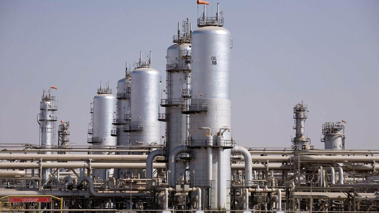 Le complexe pétrolier Abqaiq, en Arabie Saoudite.