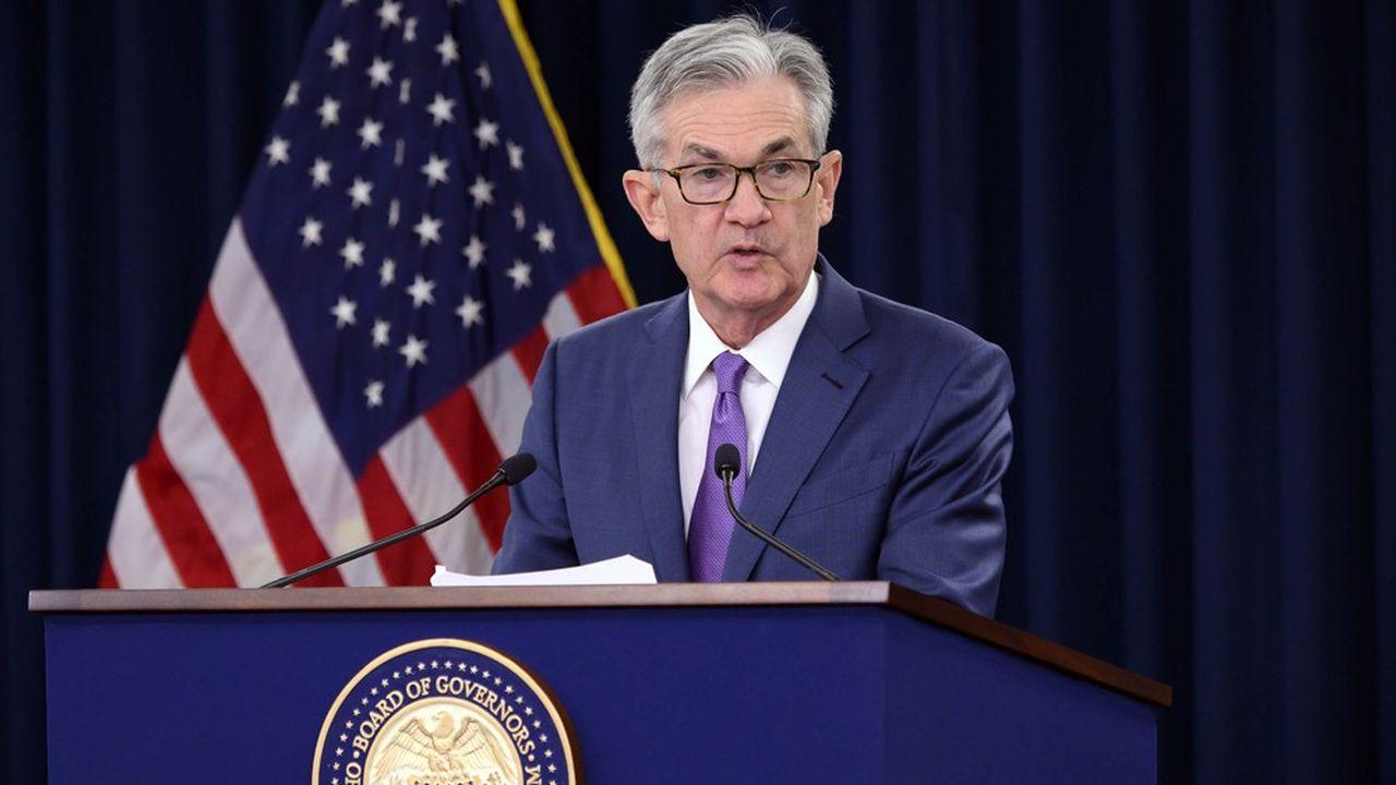 La marge de manoeuvre se réduit pour le président de la Fed, Jerome Powell.