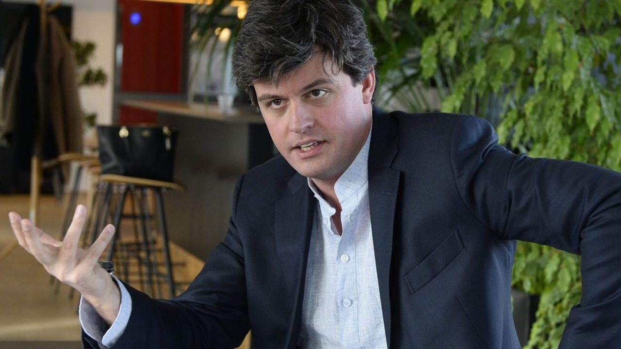 Gaspard Koenig, philosophe, président et fondateur du think tank Generation Libre