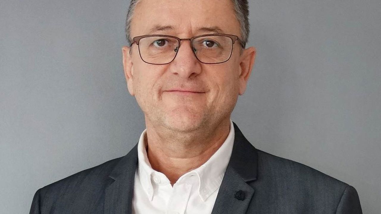 Philippe Guènebaud, président de la société Newsteo.