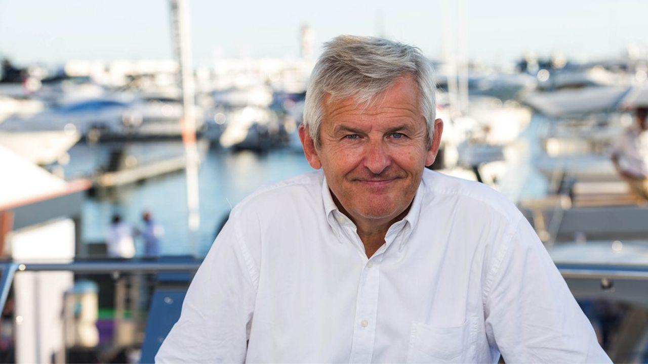 Jérôme de Metz a été nommé PDG de Bénéteau mi-juin2019.