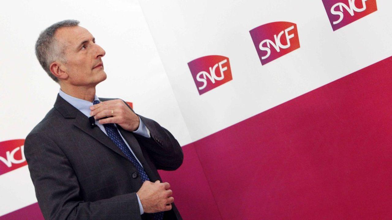 Nommé en février2008, Guillaume Pepy sera quasiment resté 12 ans à la tête de la SNCF. Un record.
