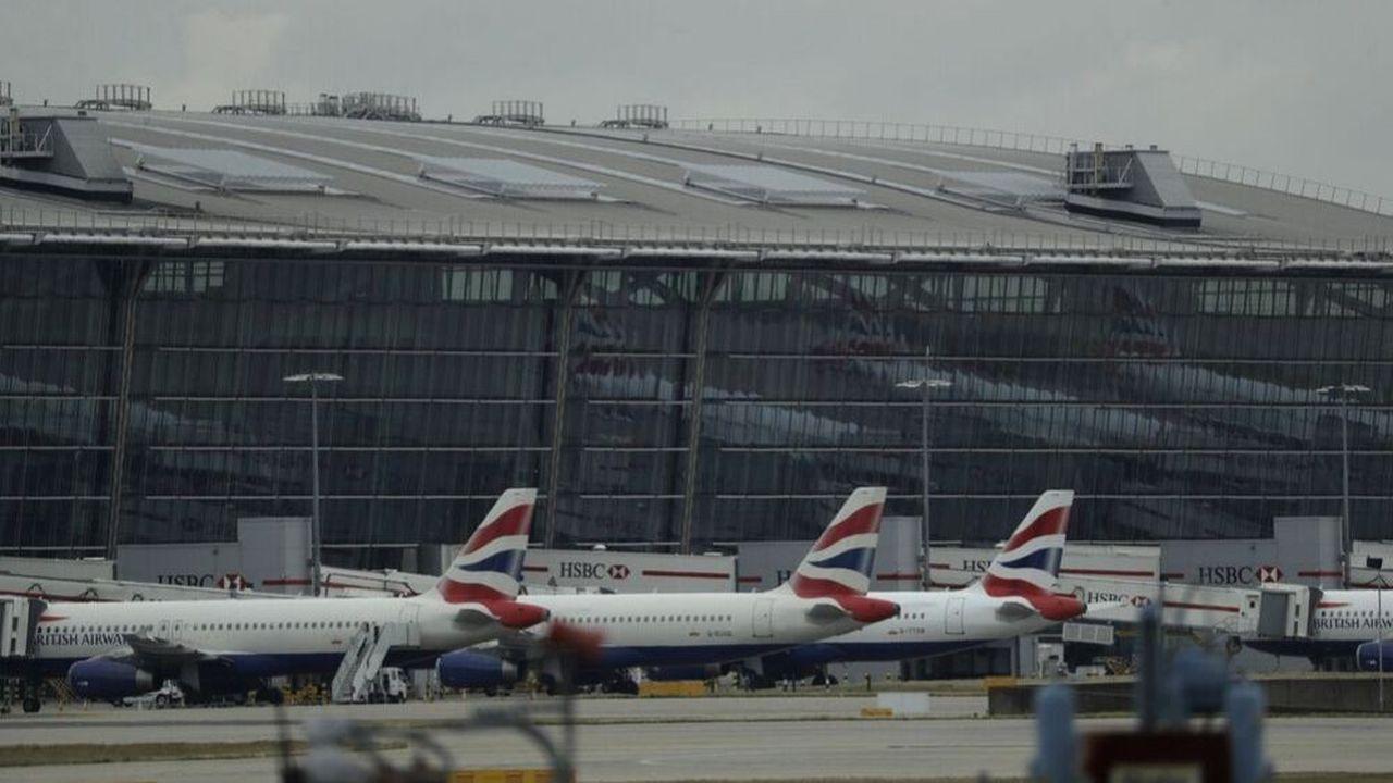Le 9septembre dernier à l'aéroport d'Heathrow à Londres, les avions de British Airways étaient restés sur le tarmac à cause de la grèvedes pilotes.