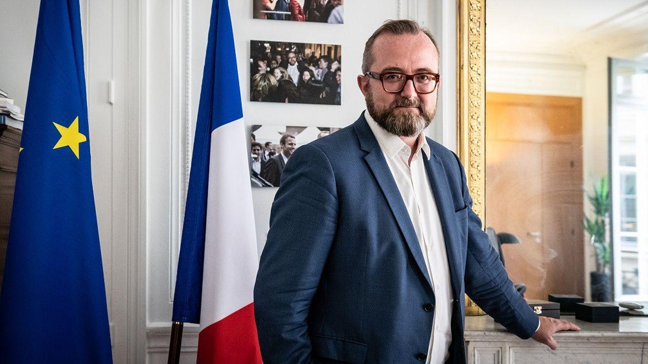 Christophe Itier, haut-commissaire à l'Economie sociale et solidaire et à l'Innovation sociale.