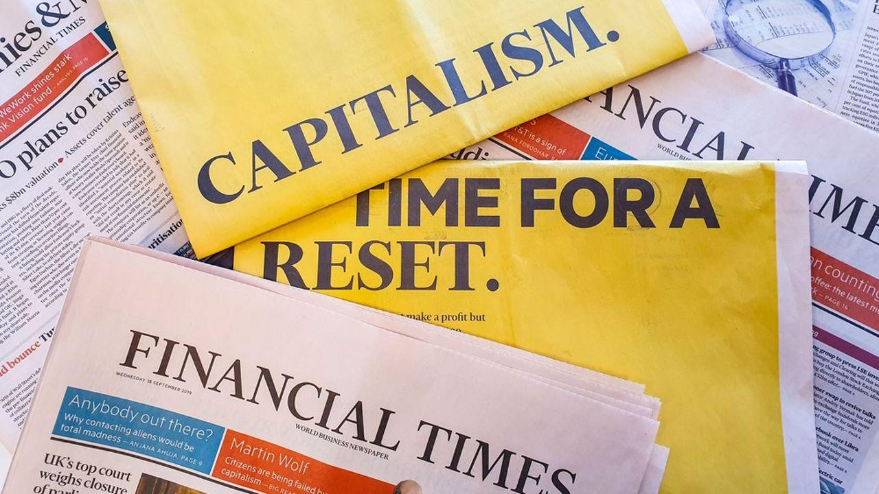 «Capitalism: time for a reset». Le «Financial Times» se lance dans la défense d'un «capitalisme dynamique» qui serve le plus grand nombre et non pas une minorité d'actionnaires rentiers. Une révolution dans la City.