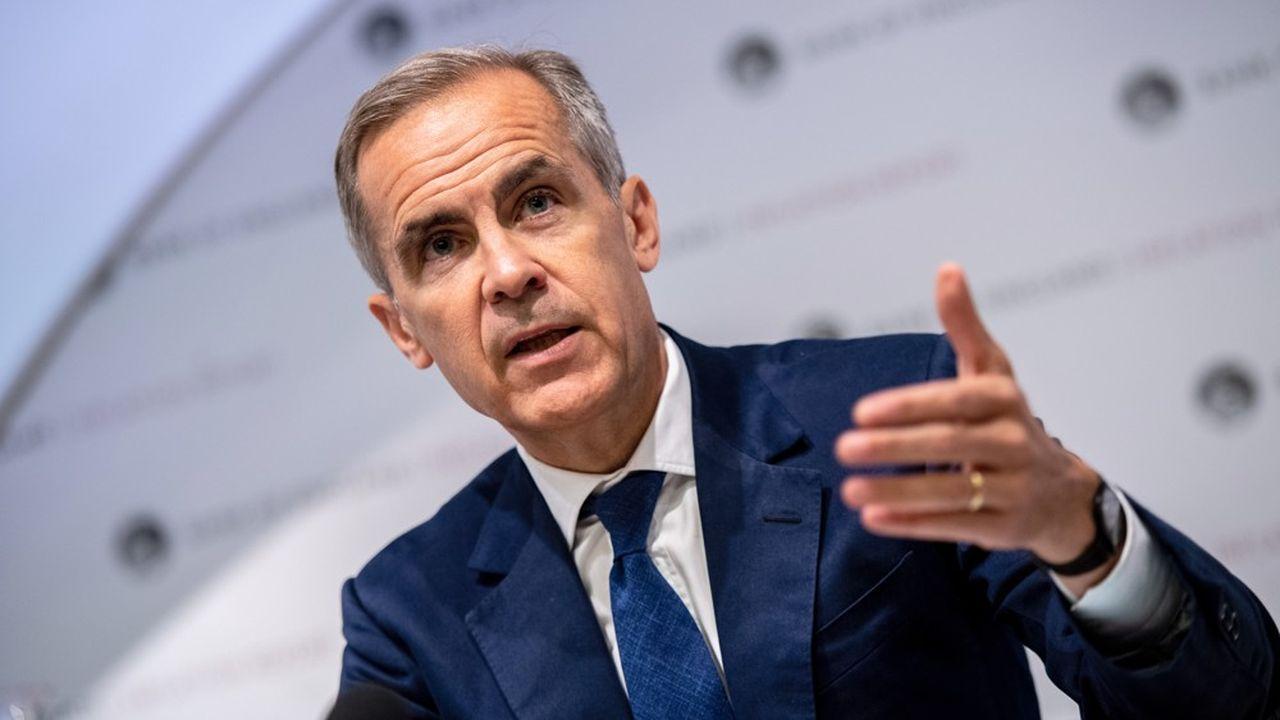 Mark Carney, le gouverneur de la Banque d'Angleterre.