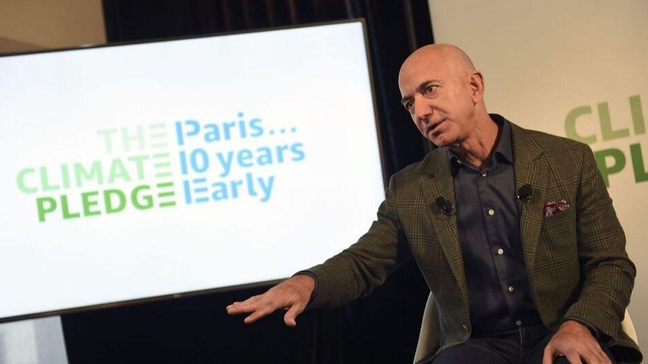 Le patron d'Amazon Jeff Bezos Eric BARADAT  AFP